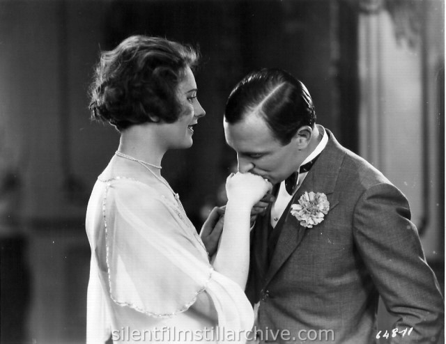 Raymond Griffith and Vera Voronina in TIME TO LOVE (1927)