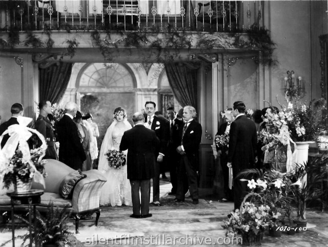Vera Veronina, William Powell, Josef Swickard and Raymond Griffith in TIME TO LOVE (1927)