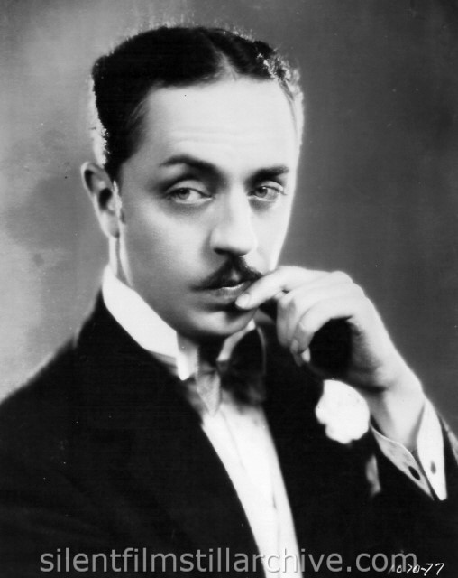 William Powell in TIME TO LOVE (1927)