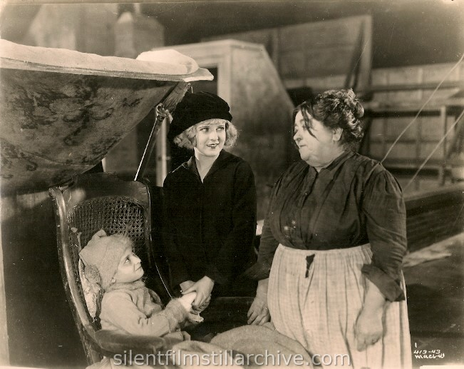 Pat Moore, May McAvoy and Carrie Clark Ward in THE TOP OF NEW YORK (1922)