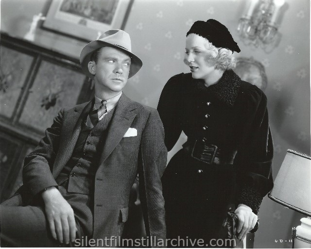 Lee Tracy and Gloria Stuart in WANTED: JANE TURNER (1936)