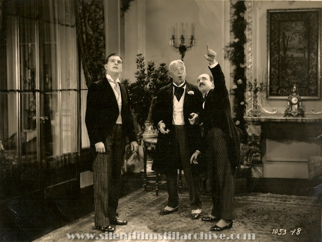 Hallam Cooley, Tom Guise and Raymond Griffith in WEDDING BILL$ (1927)