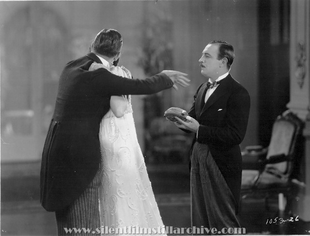 Hallam Cooley and Raymond Griffith in WEDDING BILL$ (1927)