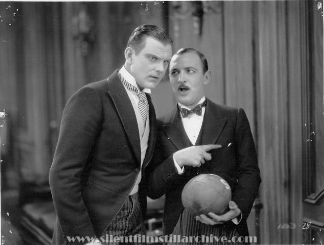 Raymond Griffith and Hallam Cooley in WEDDING BILL$ (1927)