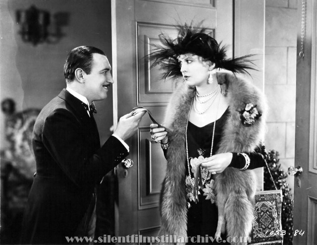 Raymond Griffith and Vivian Oakland in WEDDING BILL$ (1927)