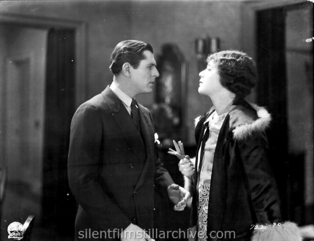Warner Baxter and Lois Wilson in WELCOME HOME (1925)