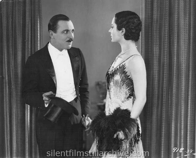 Raymond Griffith and Helene Costello in WET PAINT (1926)