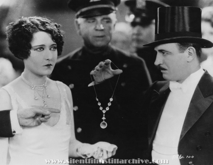Raymond Griffith and Dorothy Sebastian in YOU'D BE SURPRISED (1926).