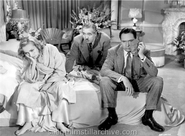 Carole Lombard and Frederic March in NOTHING SACRED